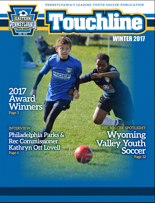 Touchline winter 2017 cover